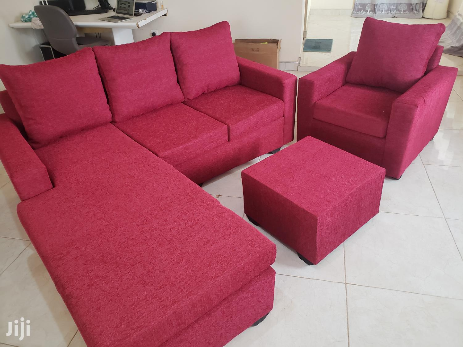 Promotion Brand New Quality Italian L Shape Sofa | Furniture for sale in Darkuman, Greater Accra, Ghana