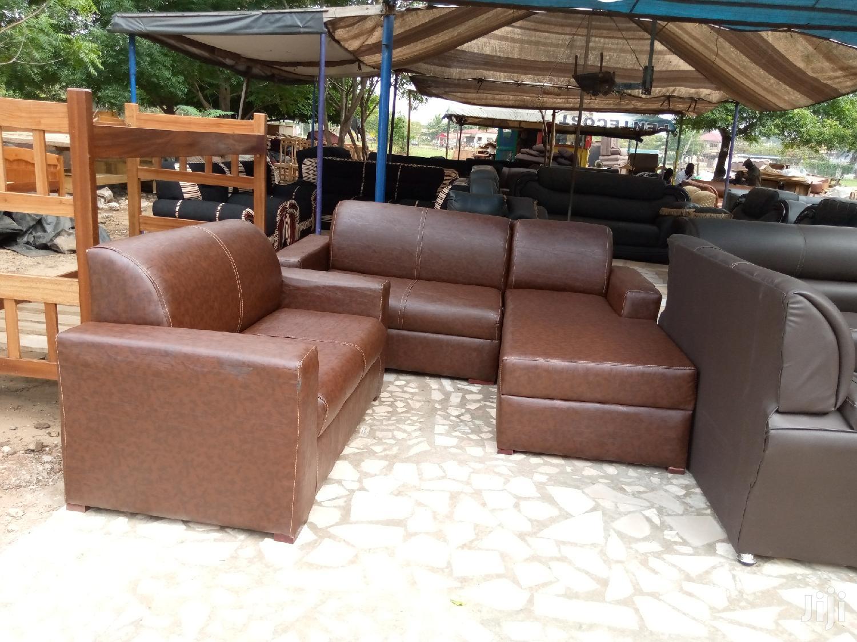 L Shape Leather Sofa