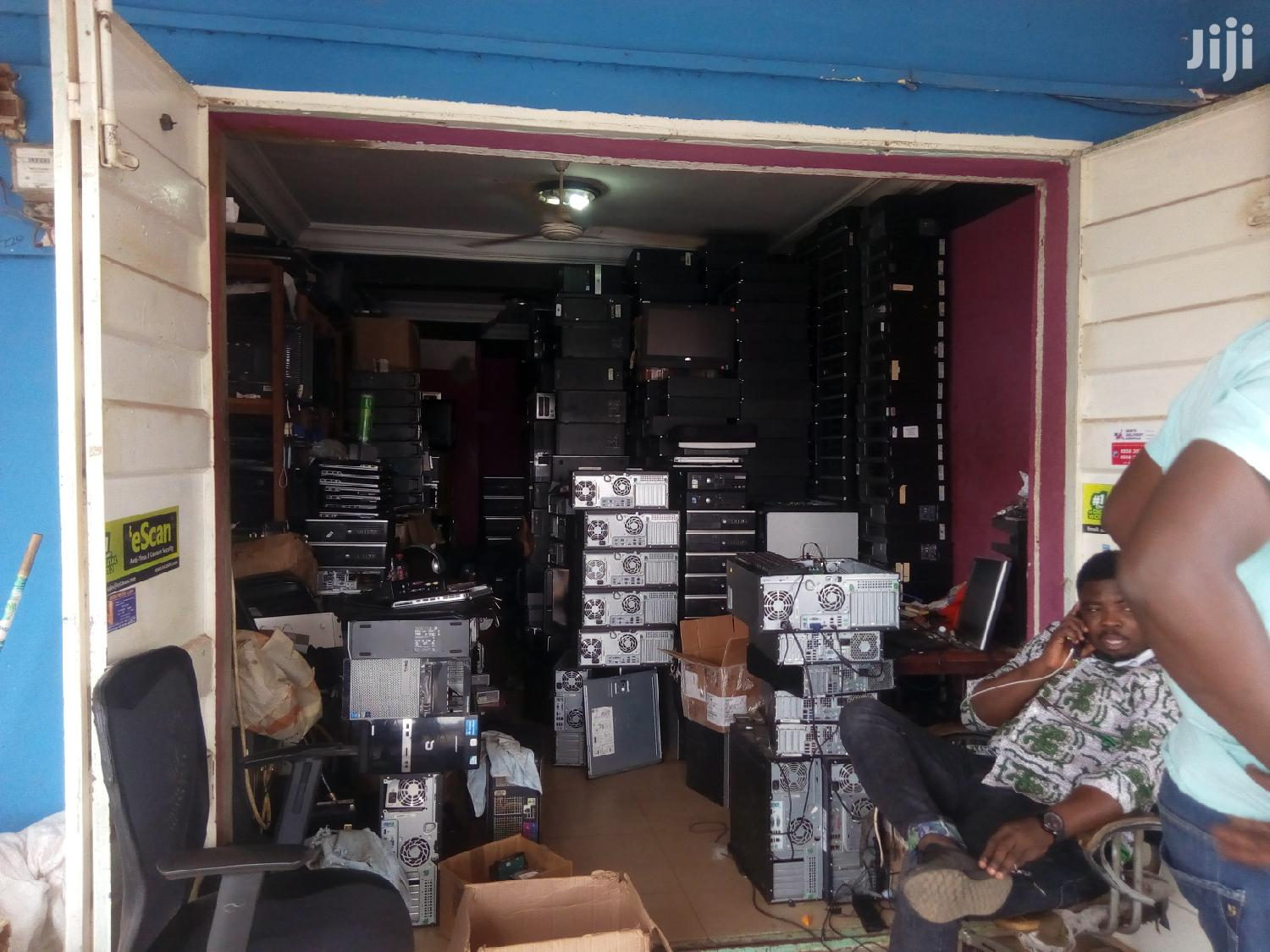 Desktop Computer HP 4GB Intel Core i7 HDD 500GB | Laptops & Computers for sale in Adenta Municipal, Greater Accra, Ghana