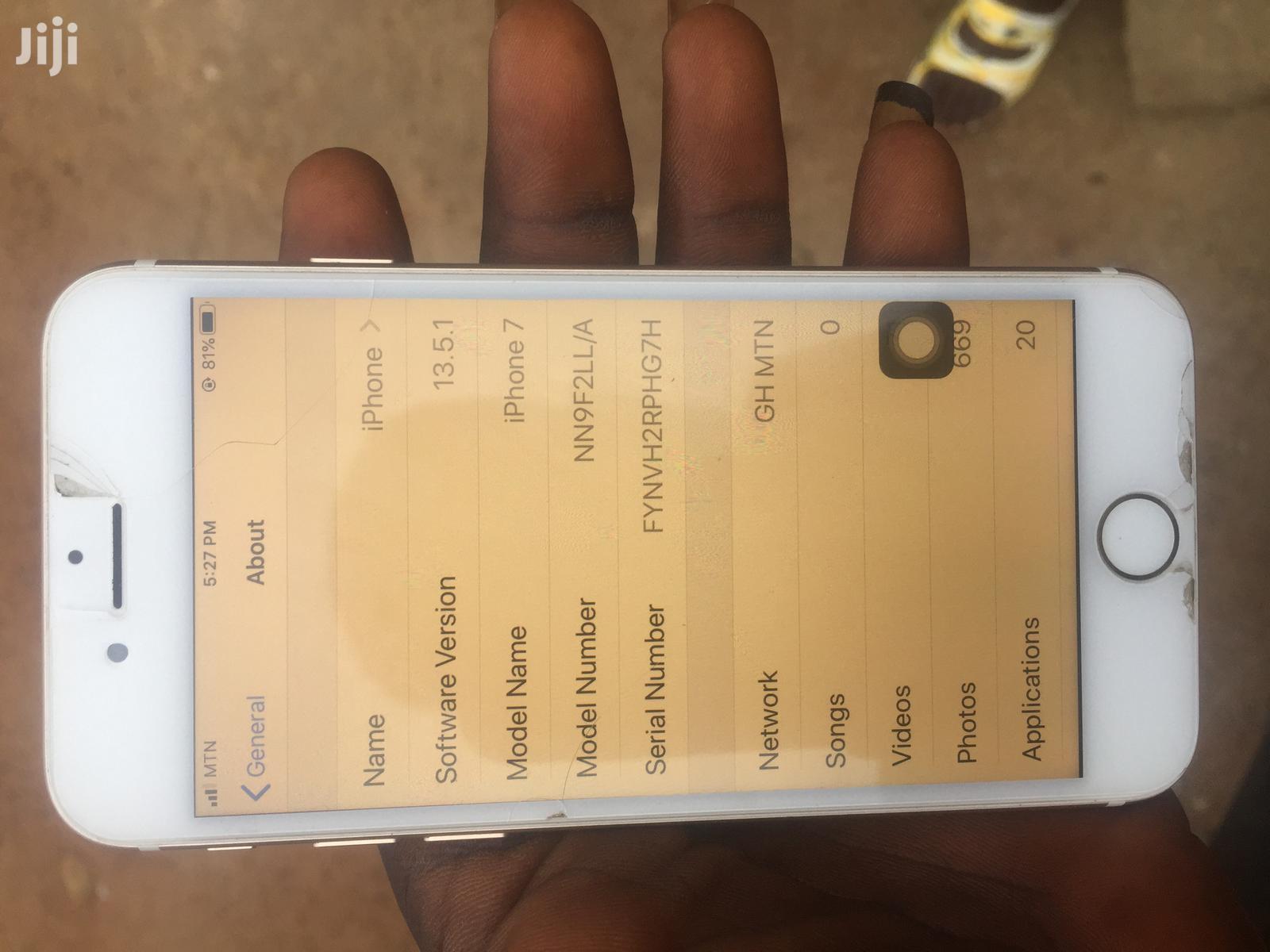 Apple iPhone 7 32 GB Gray | Mobile Phones for sale in Kumasi Metropolitan, Ashanti, Ghana