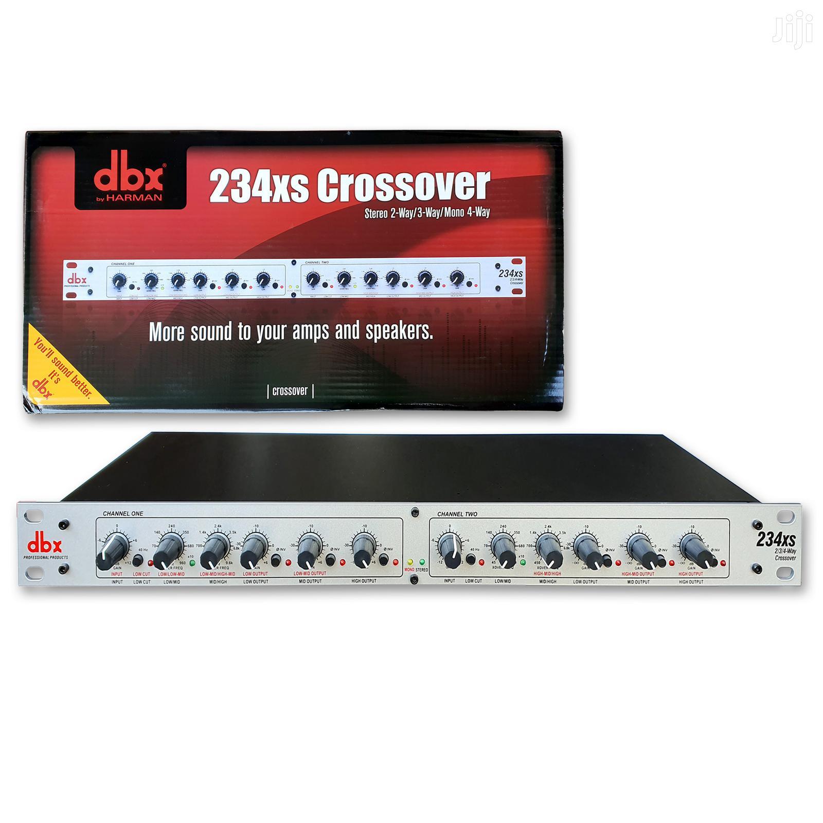 Dbx 234xs XLR Stereo 2/3 Way/Mono 4-way Crossover