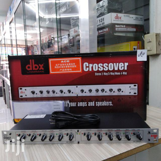 Dbx 234xs XLR Stereo 2/3 Way/Mono 4-way Crossover | Audio & Music Equipment for sale in Abelemkpe, Greater Accra, Ghana