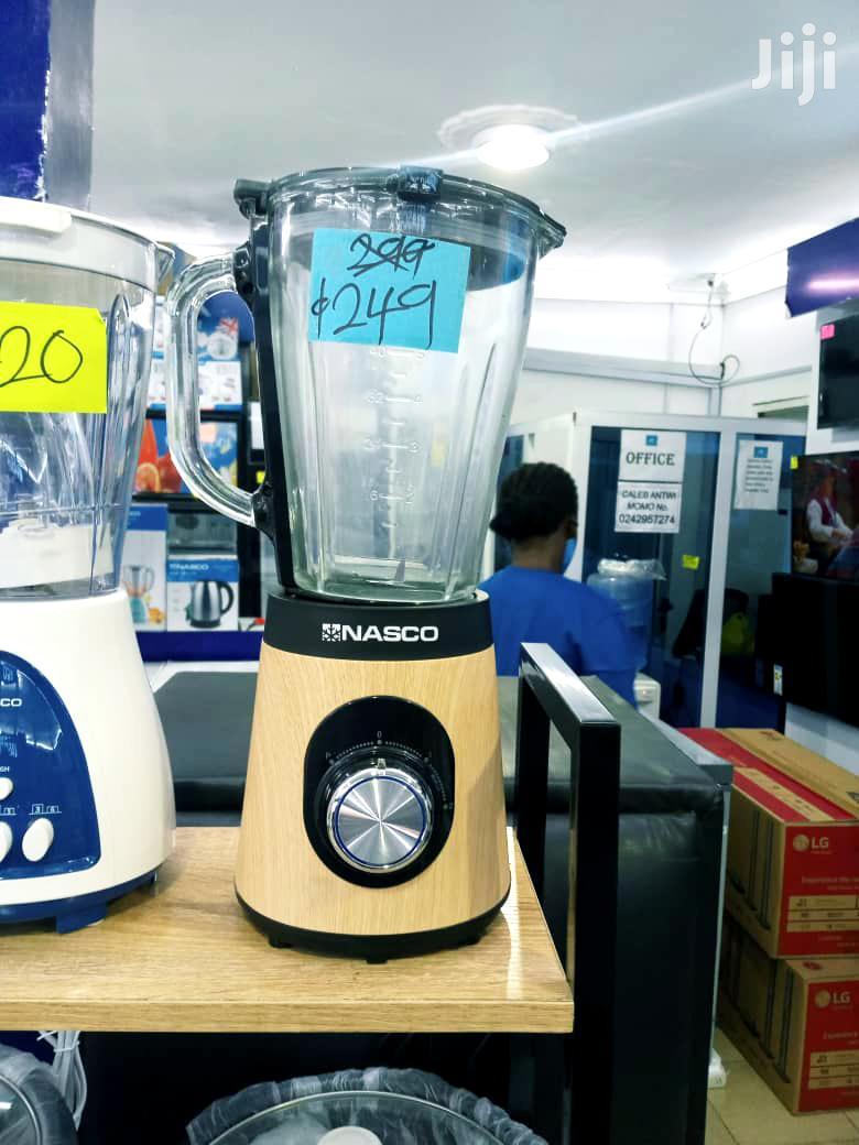 Nasco Blender With Wooden Coating 500 Watt BL9703A-