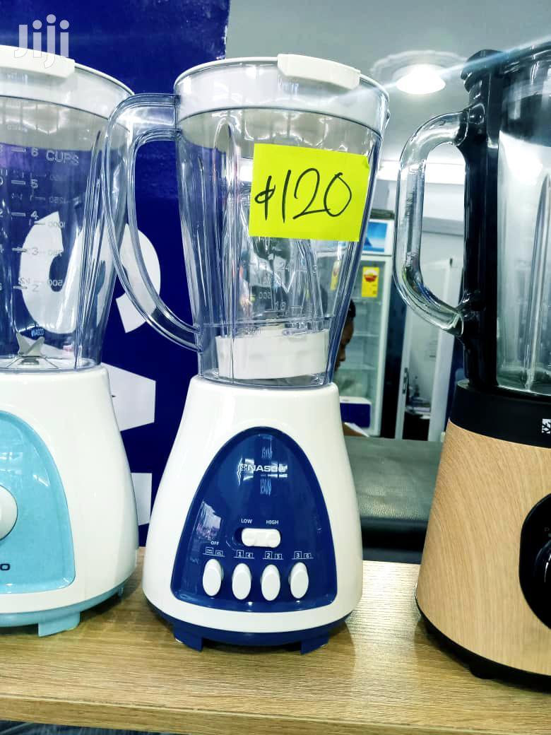Nasco BL1008AK-CB Blender With Grinder - 1.5 Liter