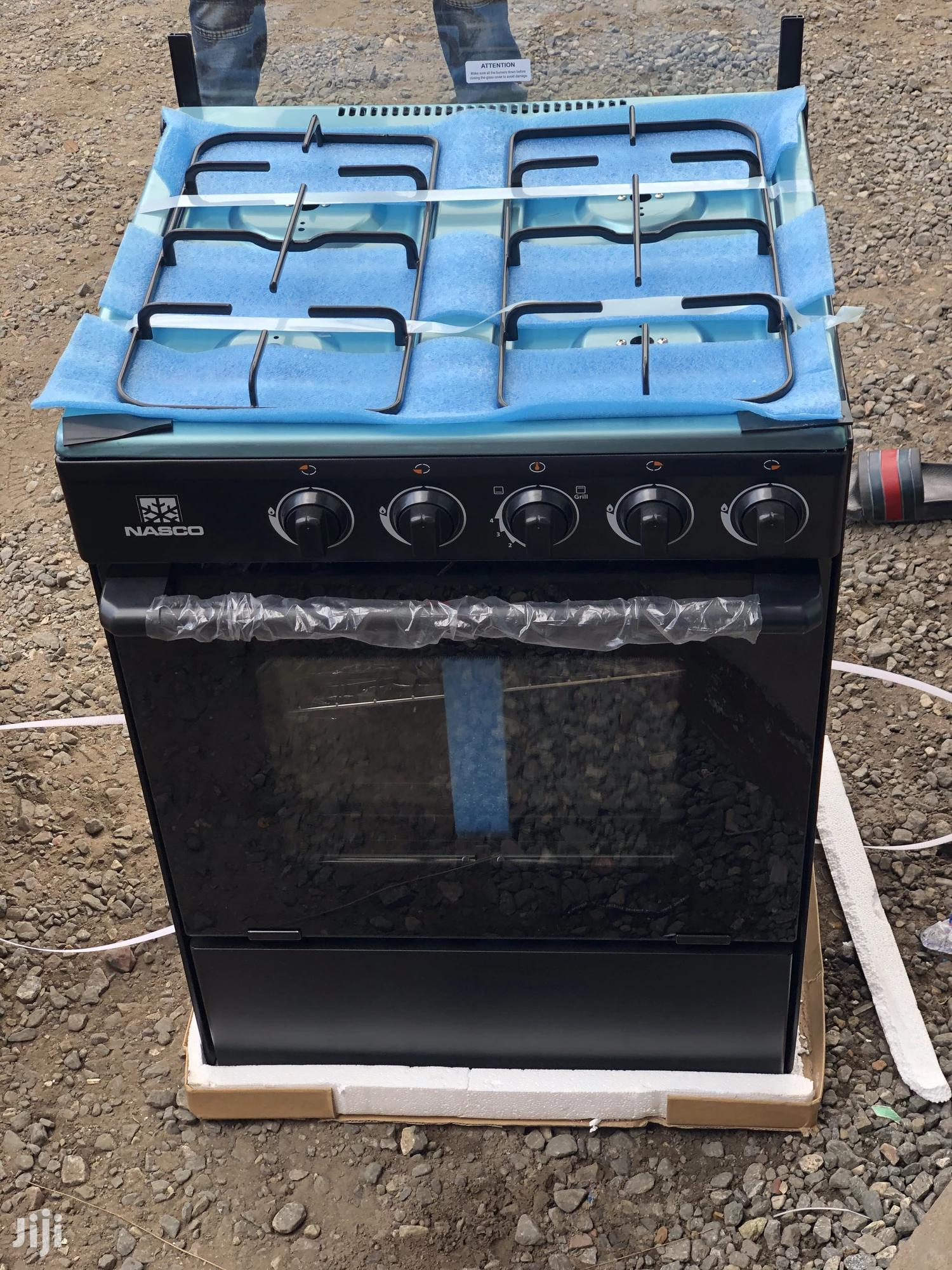 60x60 Nasco 4 Burner Gas Cooker With Oven & Grill