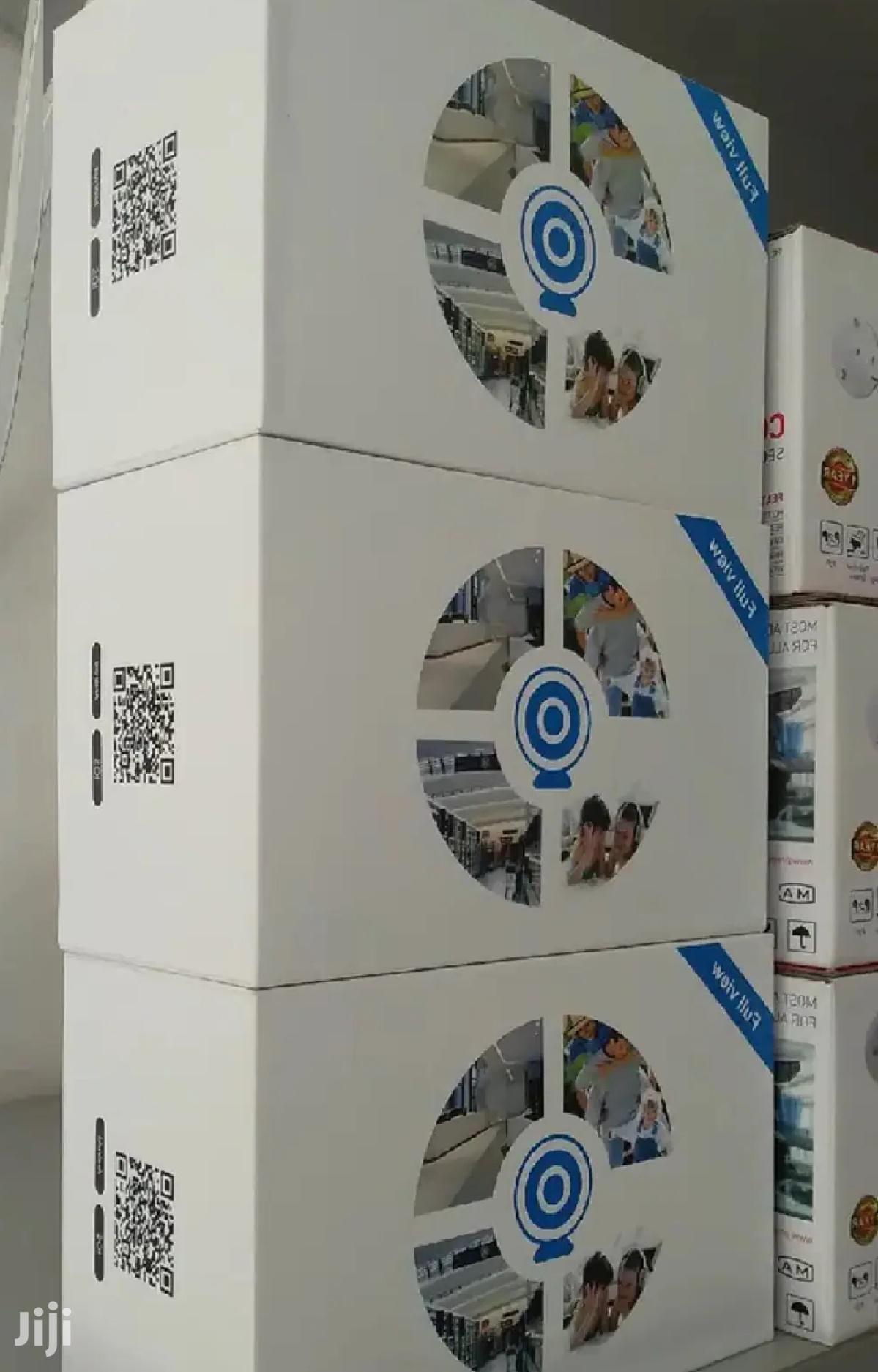 CCTV Bulb Camera 360° Lens 2 MP
