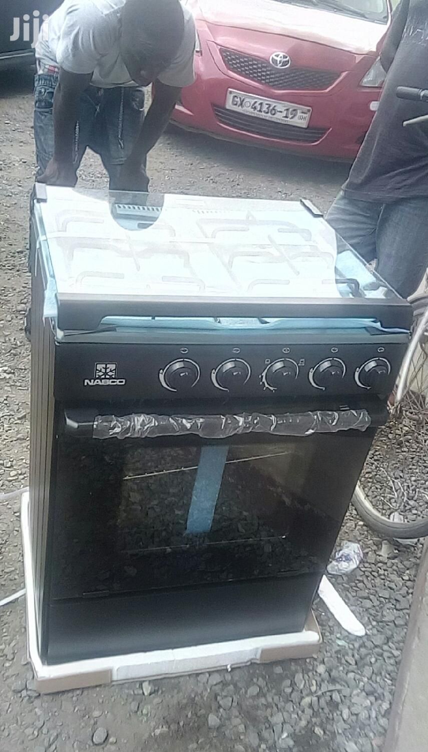 Archive: Nasco 4 Burner With Oven and Grill