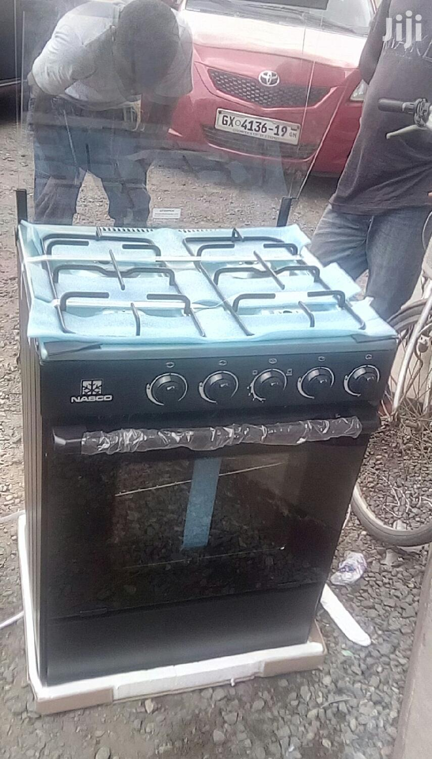 Nasco Oven And Grill 4 Burner Gas Cooker