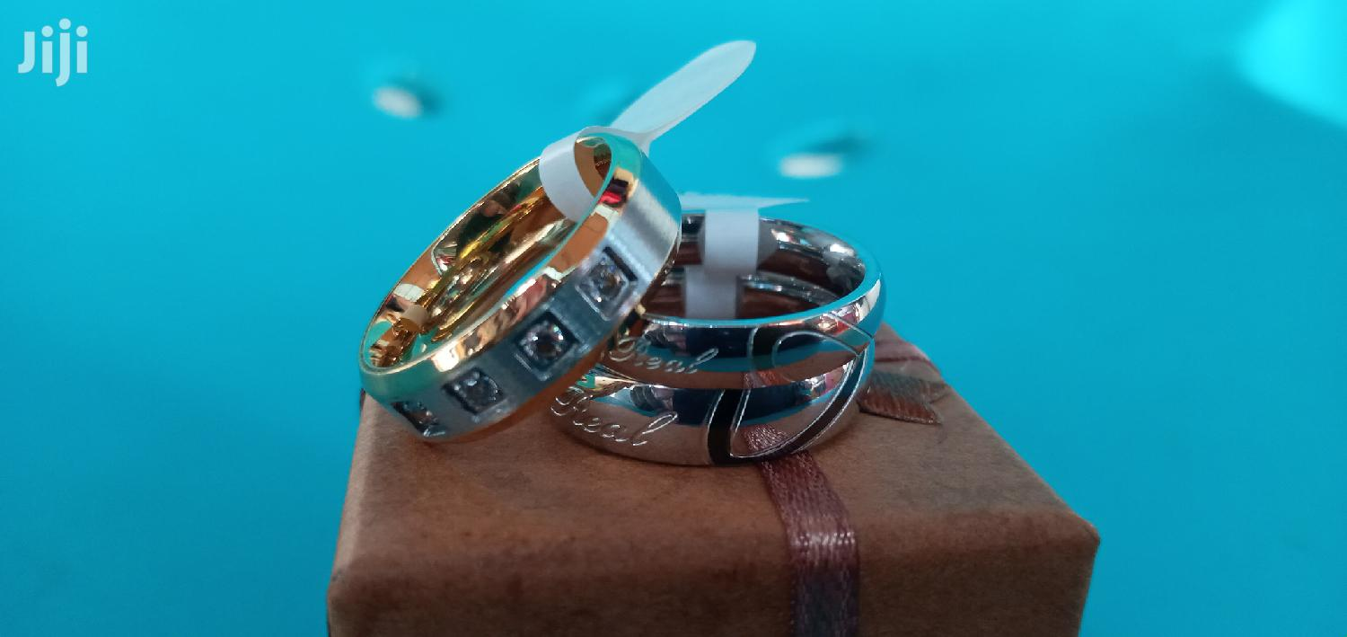 Archive: Quality 100% Sterling Silver Ring Set