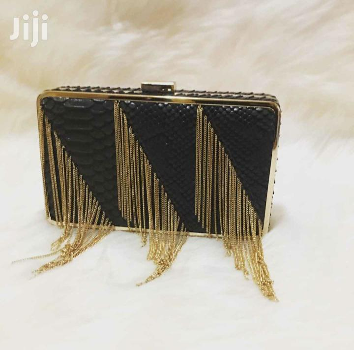 Golden Black Clutch | Bags for sale in Osu, Greater Accra, Ghana