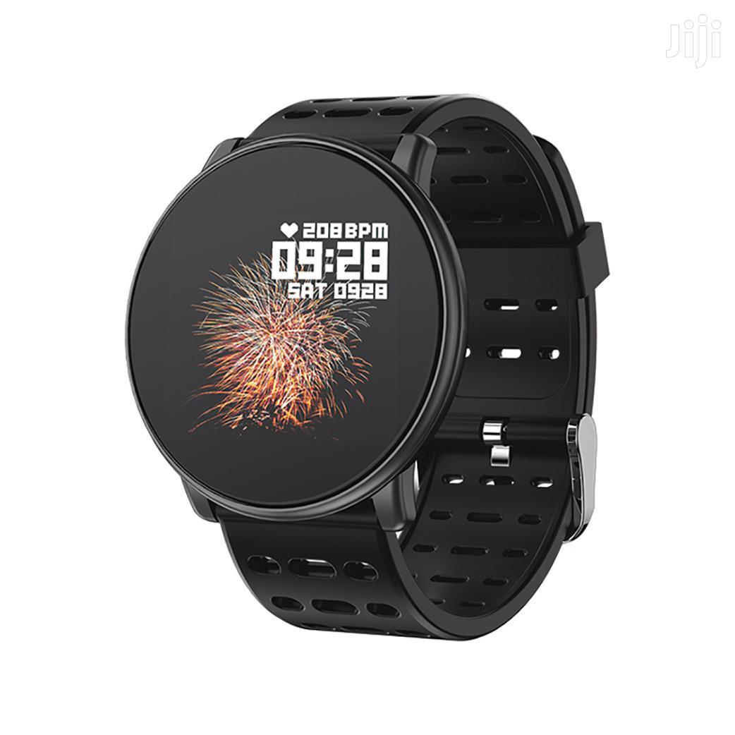 Lzefia Q88 Smart Watch Silicon Metal Glass Bluetooth