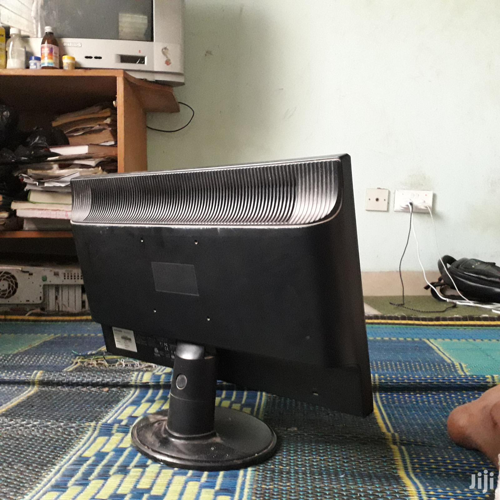 HD Wide Monitor (Compaq)   Computer Monitors for sale in Tesano, Greater Accra, Ghana