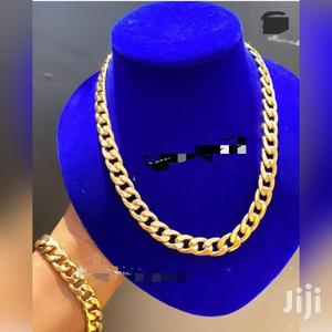 Cuban Necklace With Bracelet | Jewelry for sale in Greater Accra, Achimota