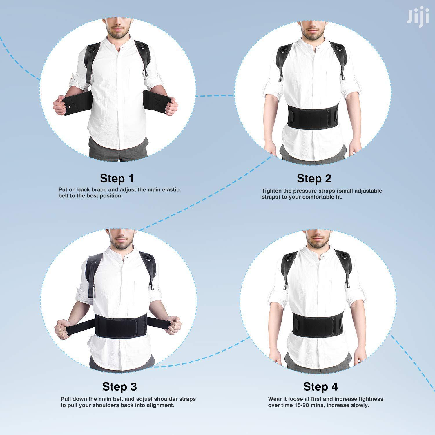Archive: Back Lumbar Support Posture Belt