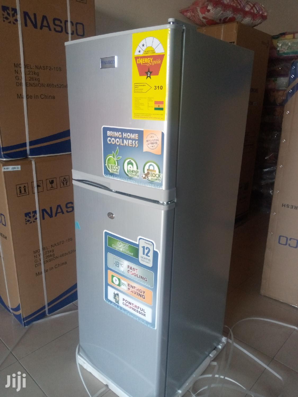 Nasco Top Freezer Fridge-138ltrs