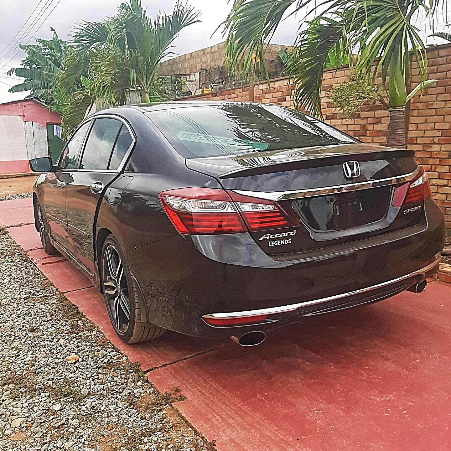 Honda Accord 2017 Black | Cars for sale in Accra Metropolitan, Greater Accra, Ghana