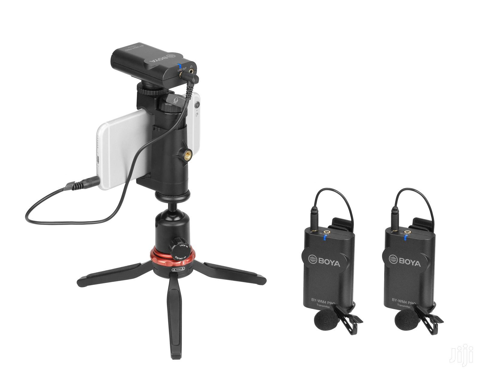 Archive: BY-WM4 Pro K2 Dual-channel Digital Wireless Microphone