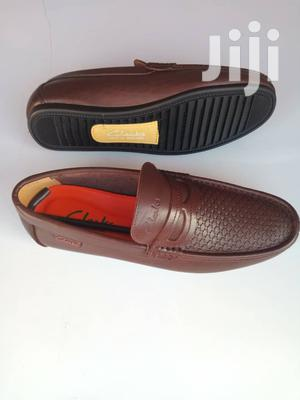Clarks Brown Leather Loafers-sz 43 | Shoes for sale in Greater Accra, Ga West Municipal