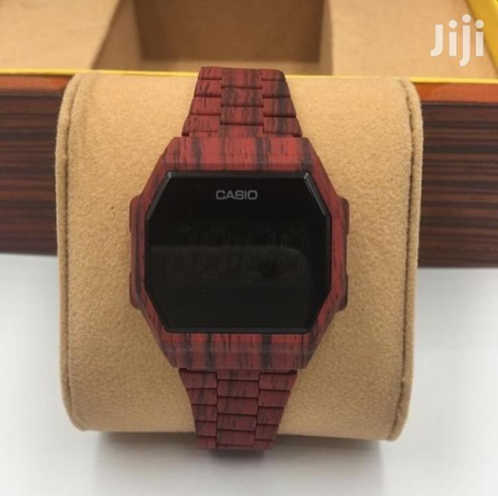 Casio Wooden Touch Watch   Watches for sale in Accra Metropolitan, Greater Accra, Ghana