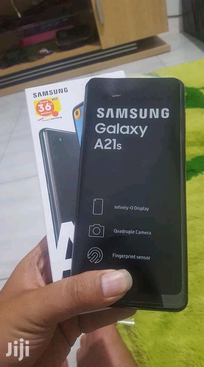 New Samsung Galaxy A21s 64 GB Blue