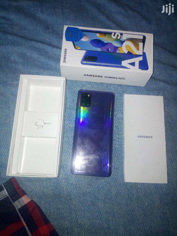 New Samsung Galaxy A21s 64 GB Blue | Mobile Phones for sale in Cape Coast Metropolitan, Central Region, Ghana