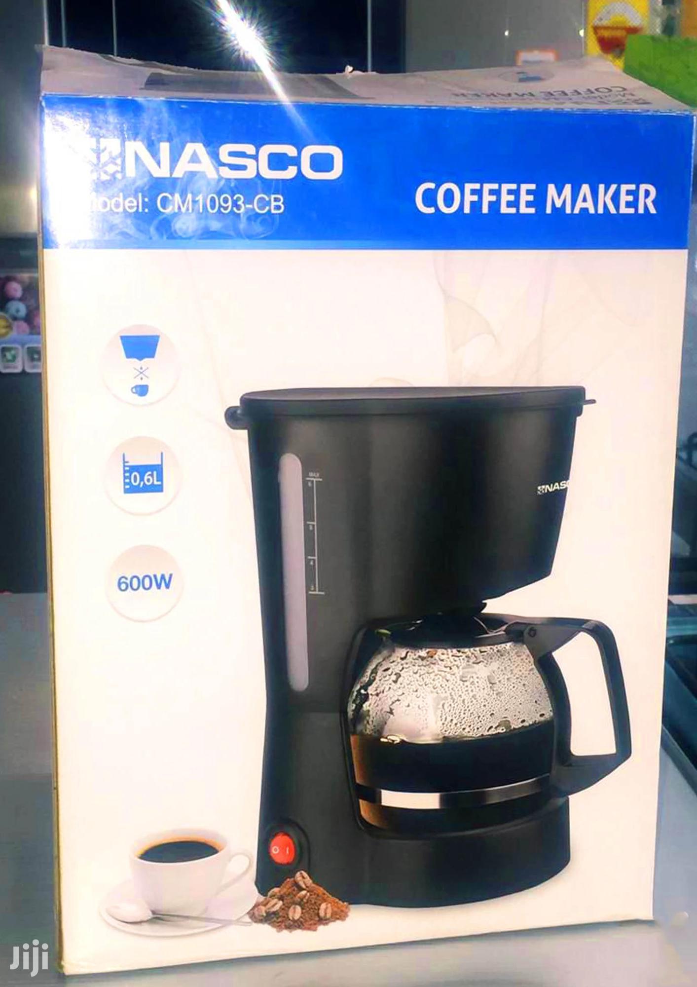 Archive: NASCO Coffee Maker (CM1093-CB)
