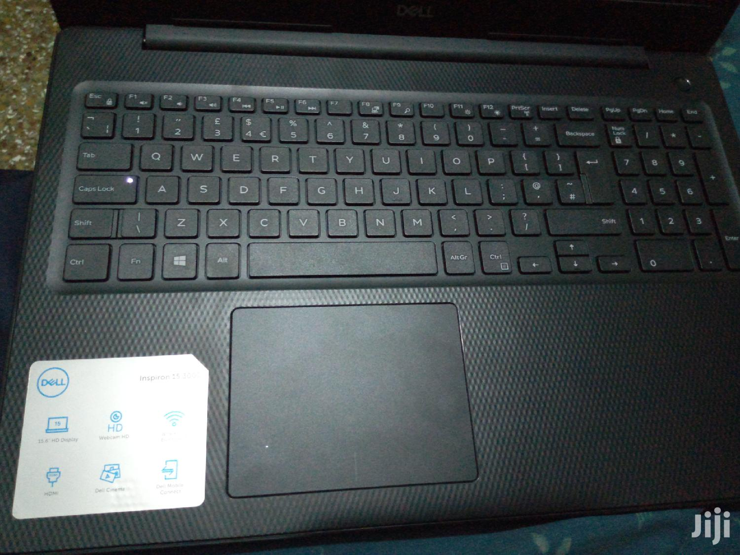 Laptop Dell Inspiron 15 3000 4GB Intel Celeron HDD 500GB   Laptops & Computers for sale in Asokore Mampong Municipal, Ashanti, Ghana