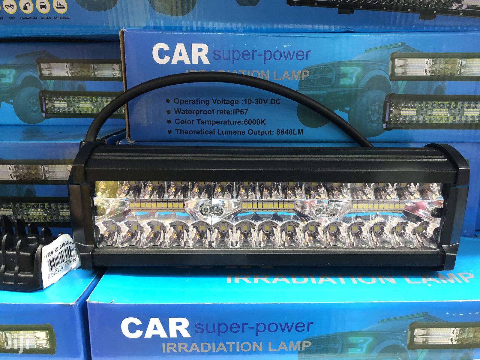 Irradiation Lamp - Cars And Buses