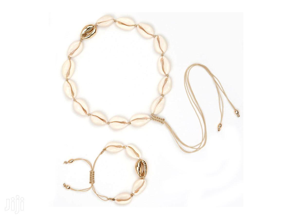 Handmade Adjustable Bracelet and Necklace Set
