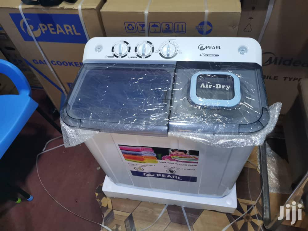 Pearl 12kg Twin Tub Automatic Washing Machine Type | Home Appliances for sale in Adabraka, Greater Accra, Ghana