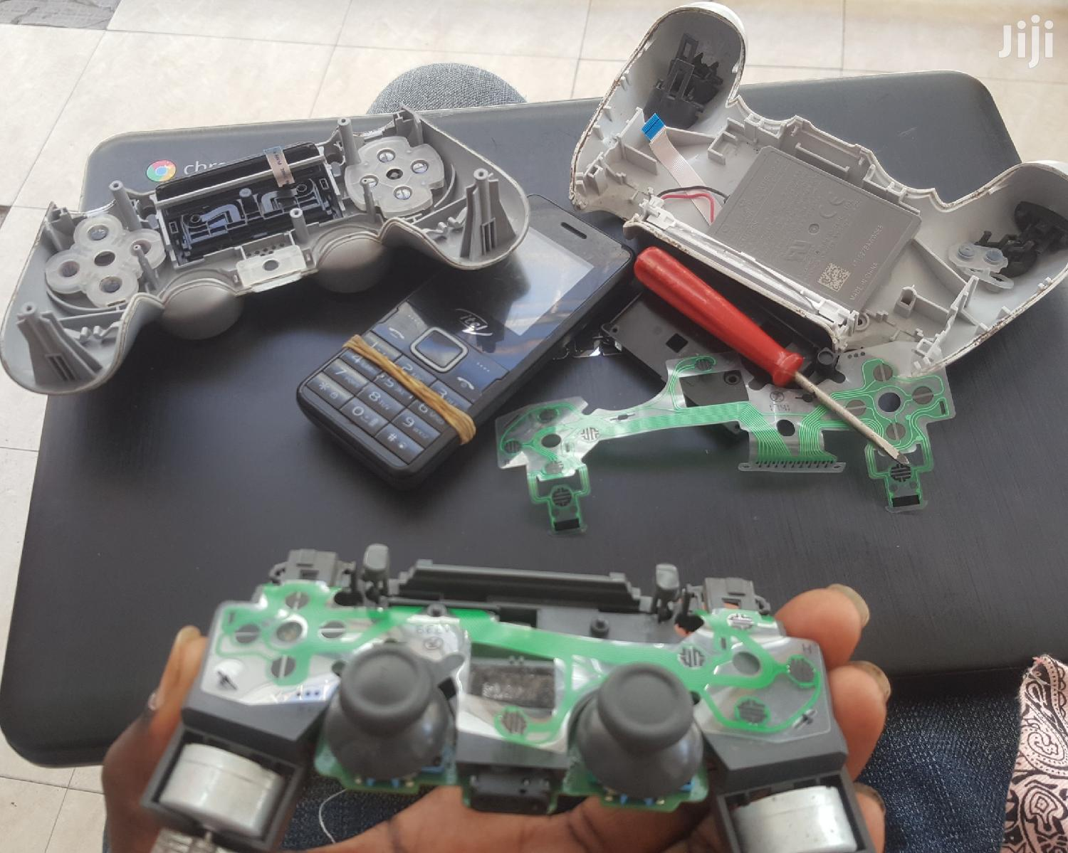 Repair PS4 Controller And Console