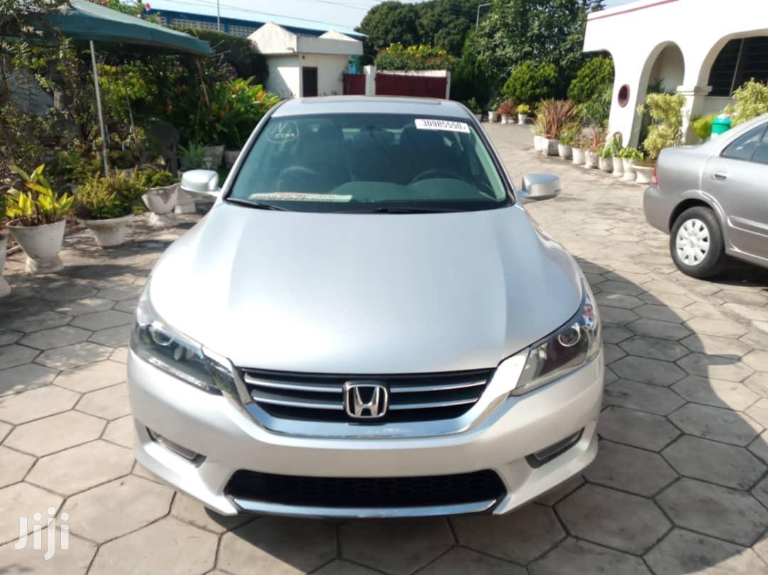 Honda Accord 2015 Silver