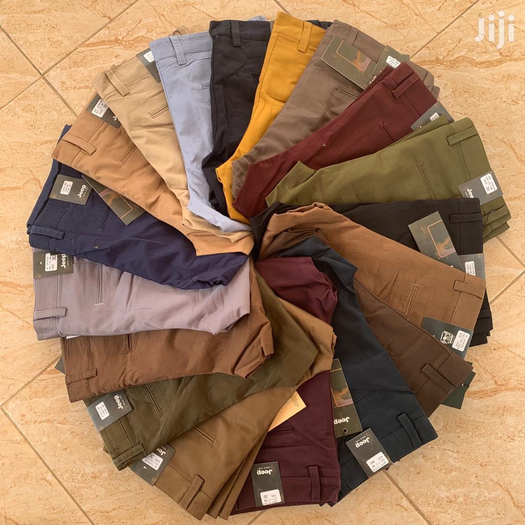 Men's Trousers.