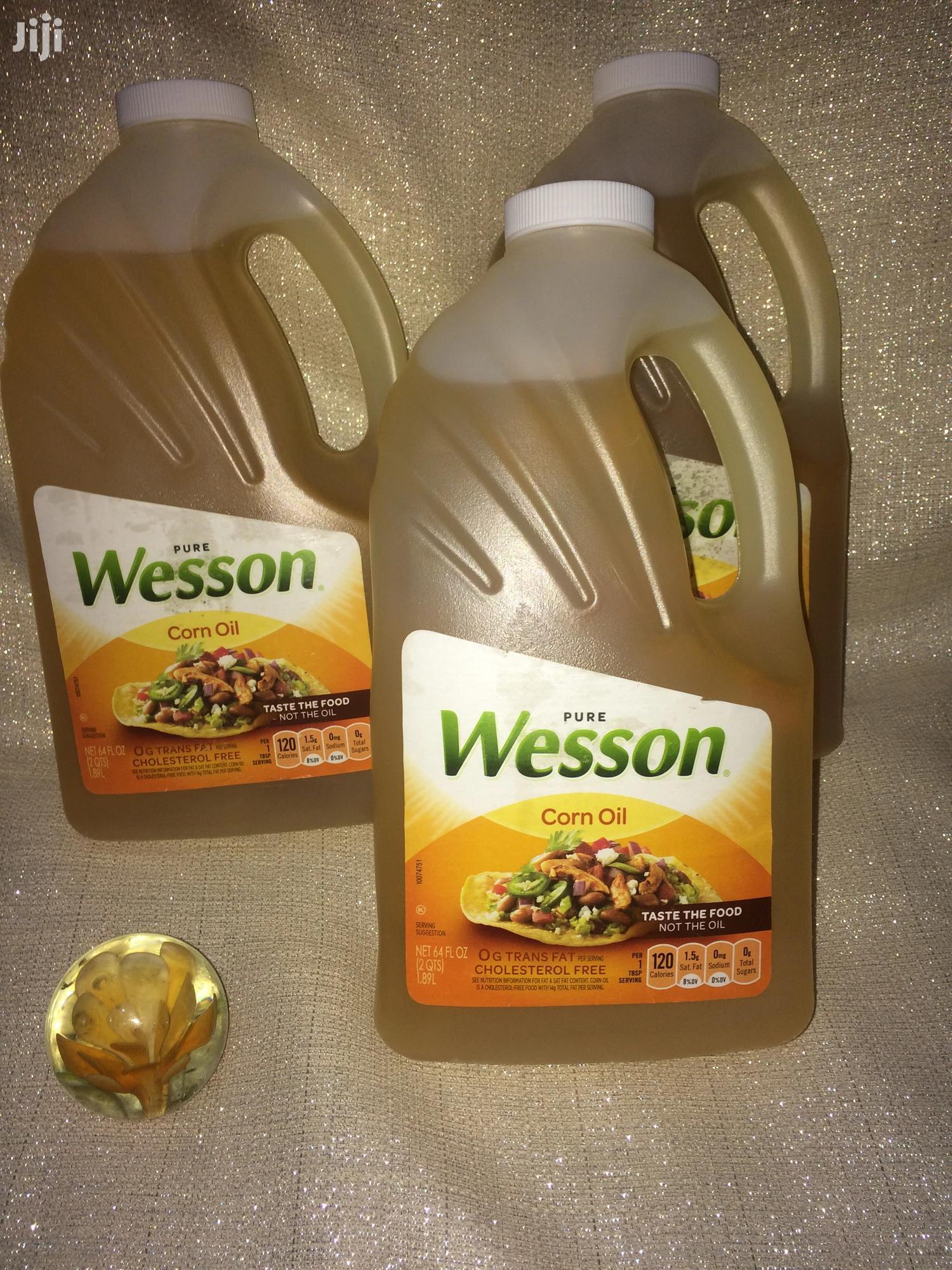 Wesson Corn And Canola Oils