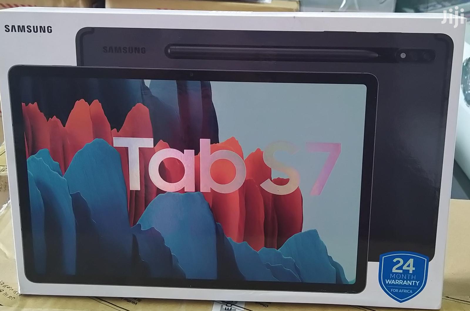 New Samsung Galaxy Tab S7 128 GB Silver