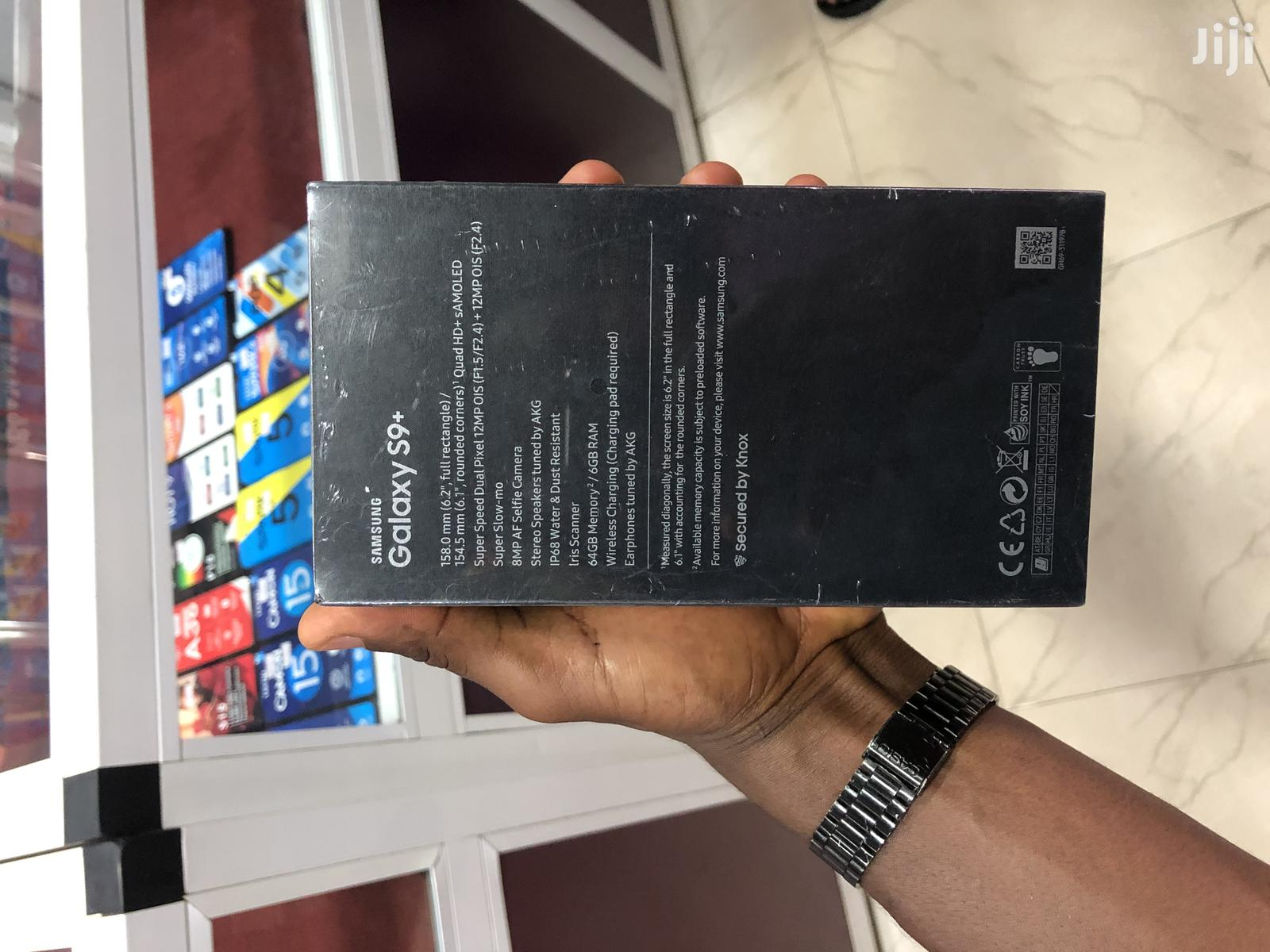 New Samsung Galaxy S9 Plus 64 GB Black | Mobile Phones for sale in Accra Metropolitan, Greater Accra, Ghana