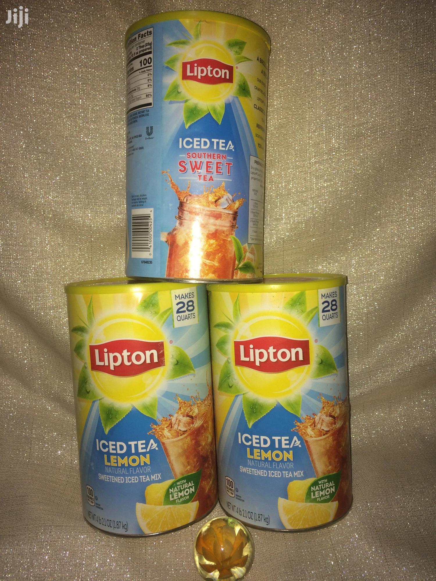 LIPTON Iced Tea Lemon