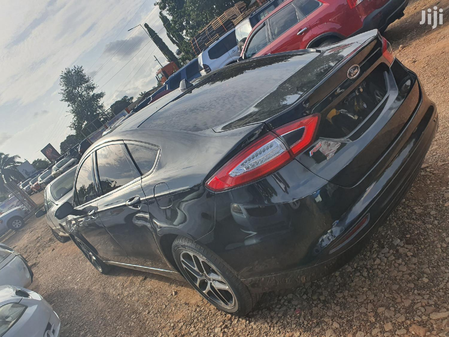 Ford Fusion 2014 Black