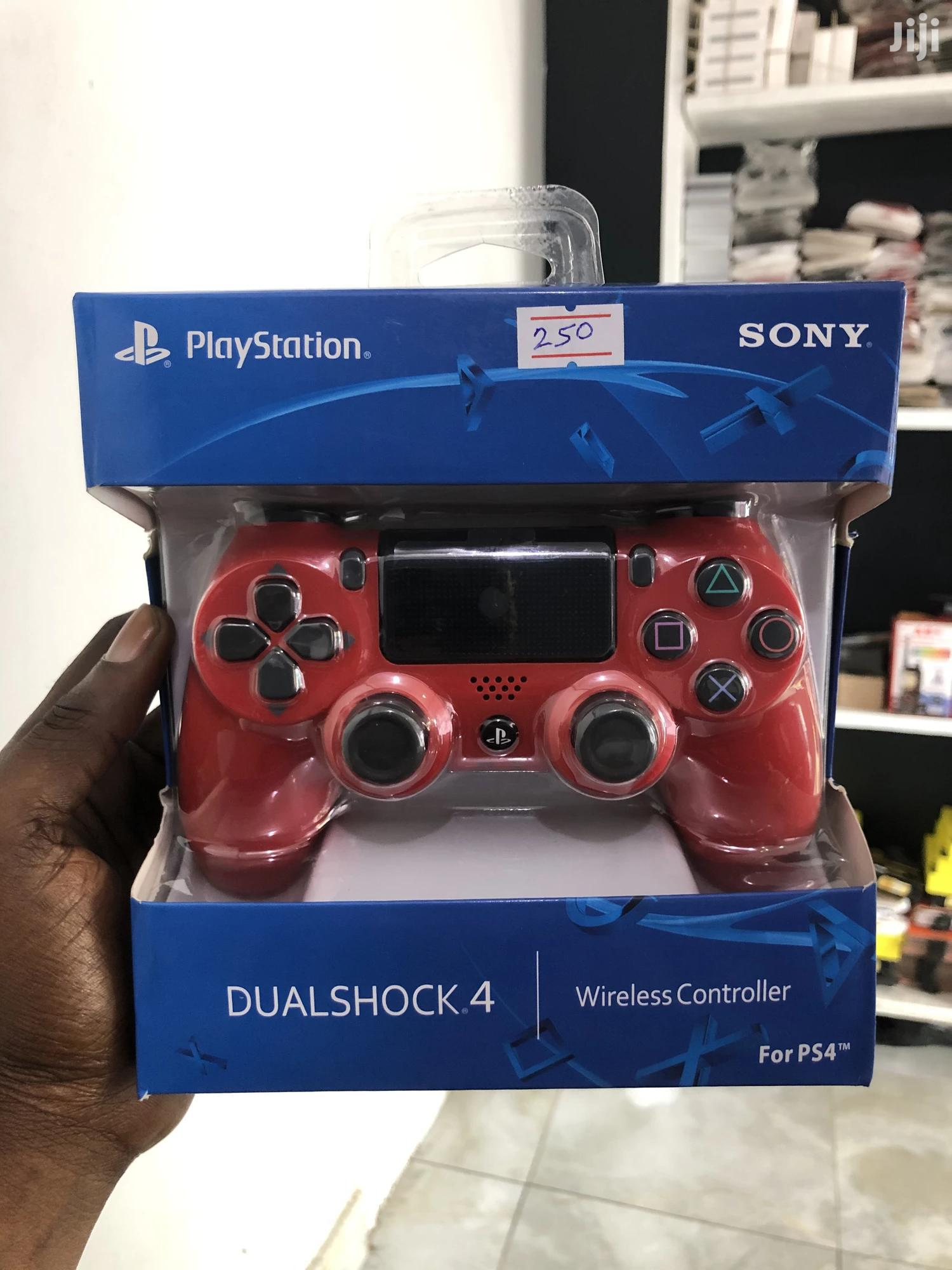 New PS4 Controller Red