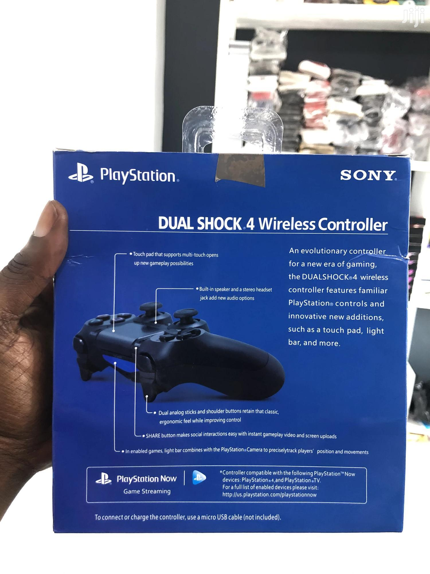 New PS4 Controller Red | Video Game Consoles for sale in Adabraka, Greater Accra, Ghana