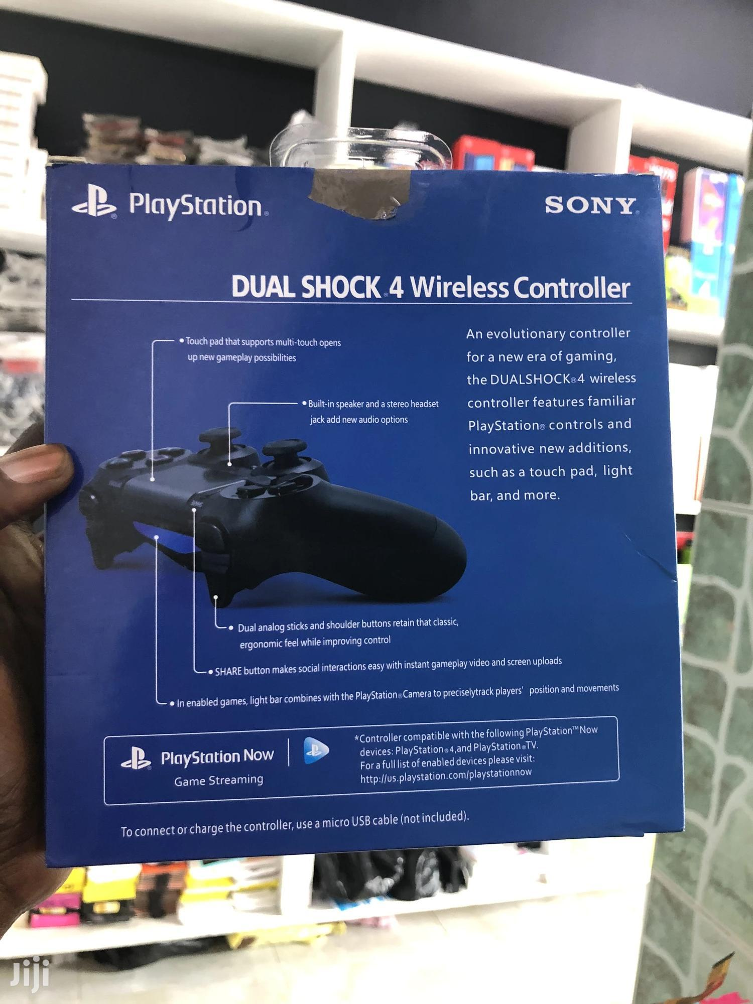 New PS4 Controller Black | Video Game Consoles for sale in Adabraka, Greater Accra, Ghana