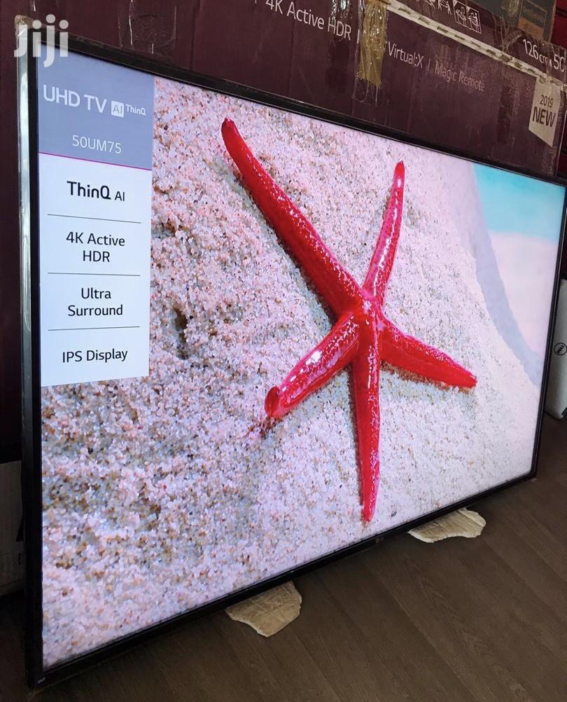 LG 50 Inches Ultra 4K Smart Digital Satellite   TV & DVD Equipment for sale in Adenta Municipal, Greater Accra, Ghana