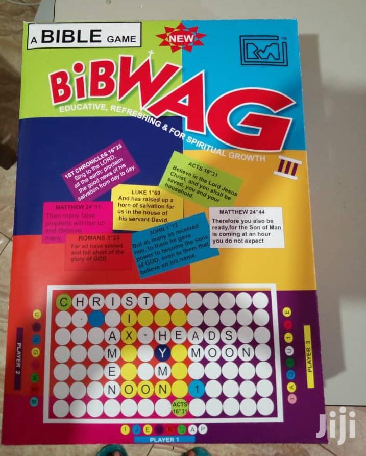Board Bible Game - Bibwag (For Adults) Bibwag for Kidz