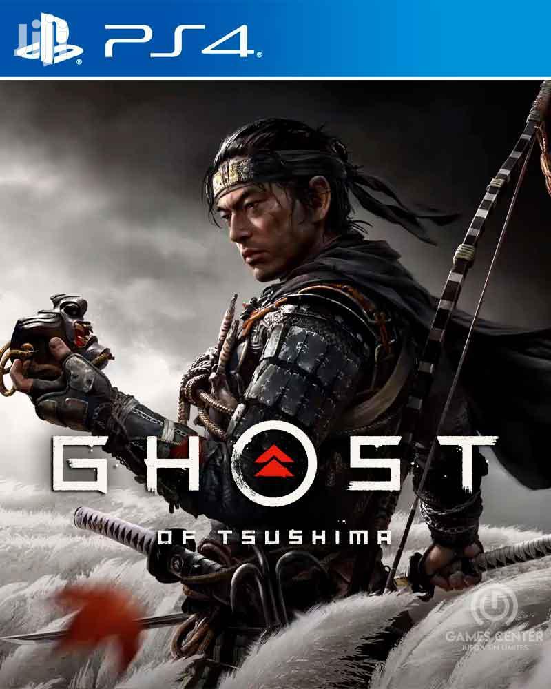 PS4 Ghost Of Tsushima Installation