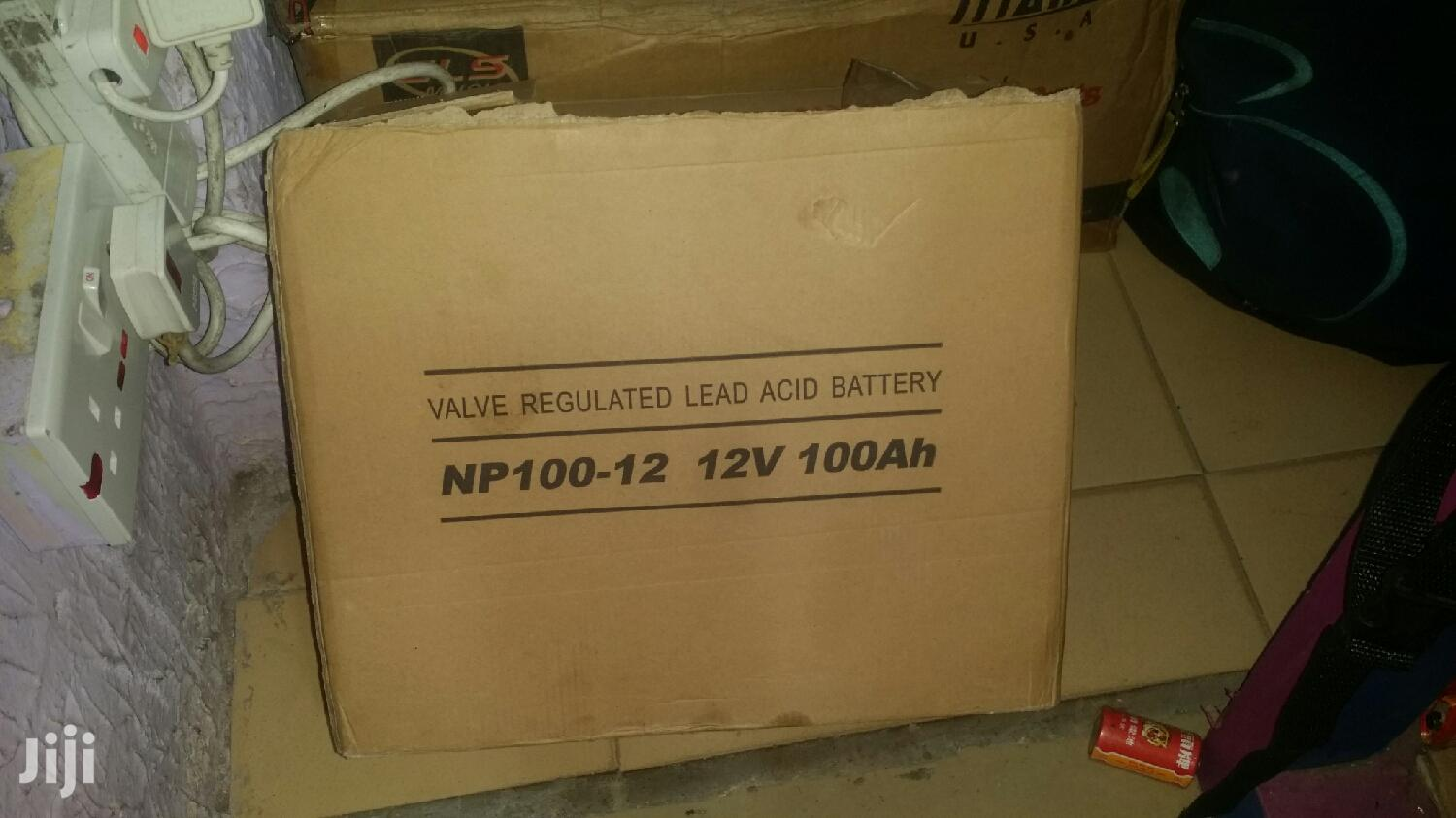 MPPT 3kva Hybrid Solar Inverter With NP100-12 Battery | Solar Energy for sale in Accra Metropolitan, Greater Accra, Ghana