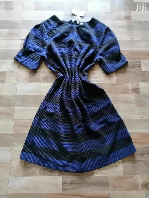 Striped Short Dress/Long Dress