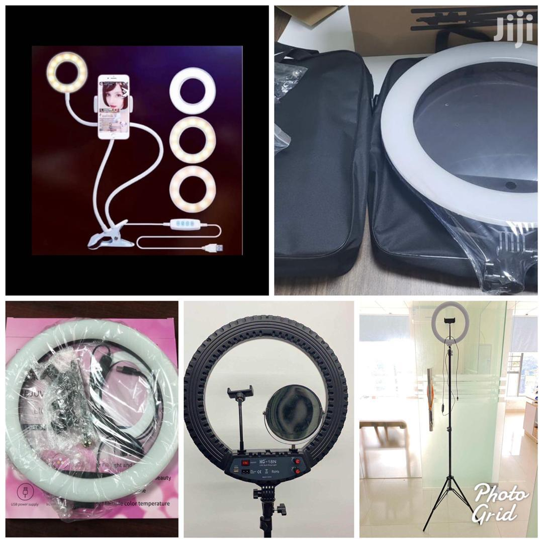 Ring Light and Cell Phone Holder