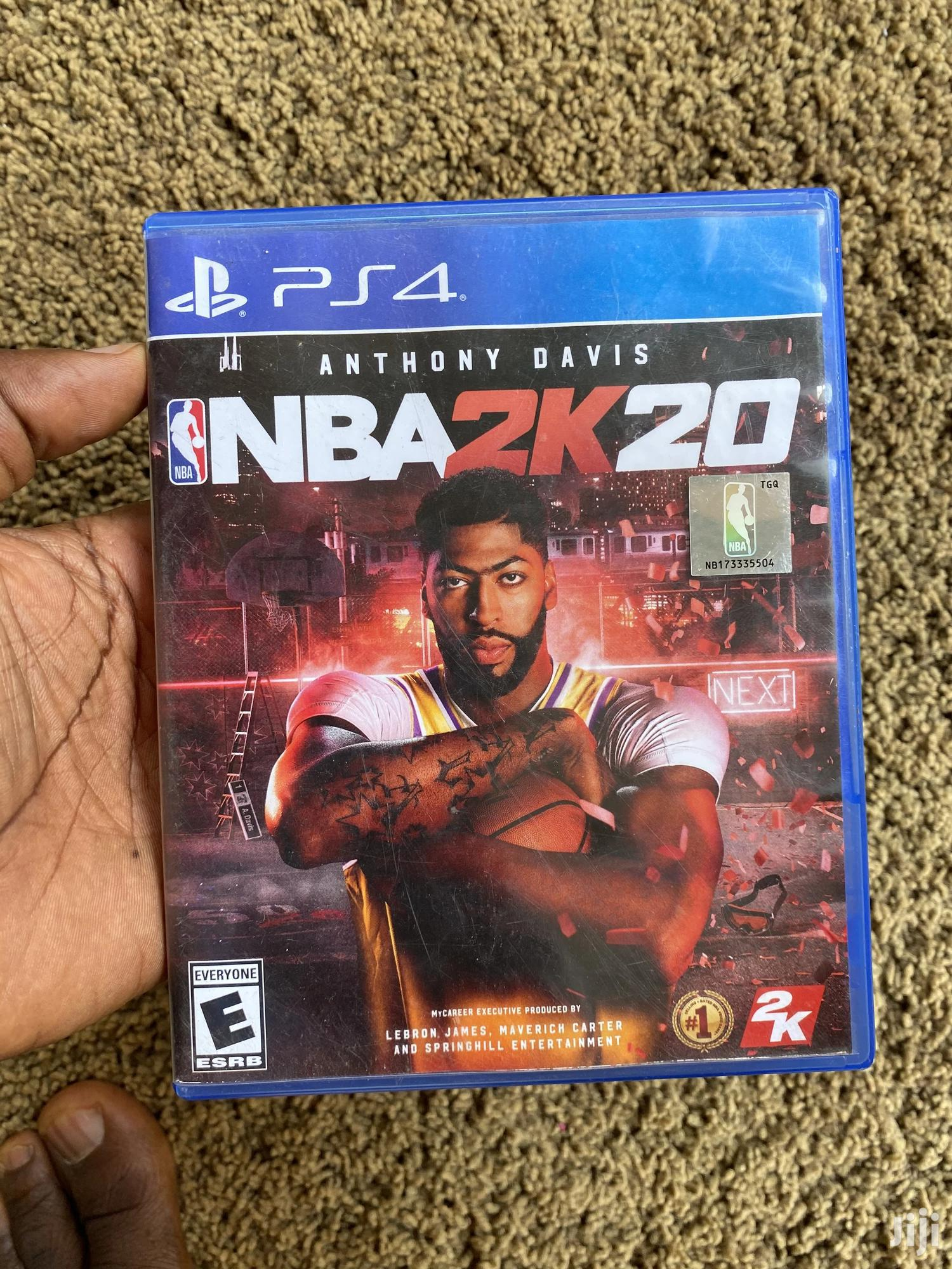 Archive: Ps4 Nba 2K20