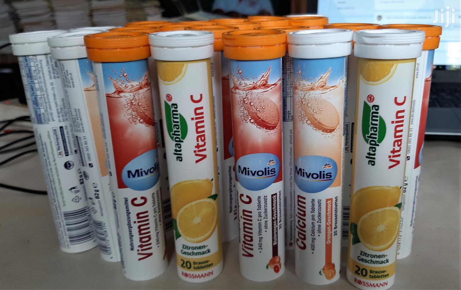 Archive: Vitamin C + Zinc (Dissolvable Tablets) 20 Pcs