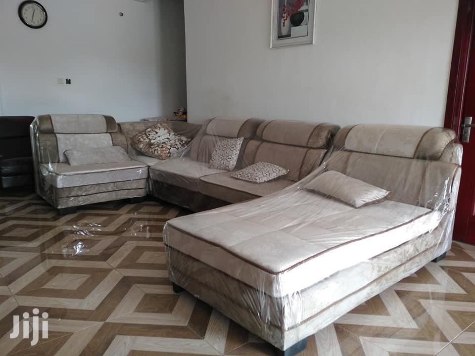 Quality Full Set Leather Sofa | Furniture for sale in Accra Metropolitan, Greater Accra, Ghana